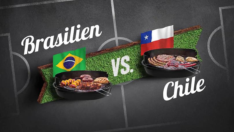 """Reiner Calmund - EDEKA – Bauchentscheidungsvideos - Achtelfinale """"Brasilien vs. Chile"""""""