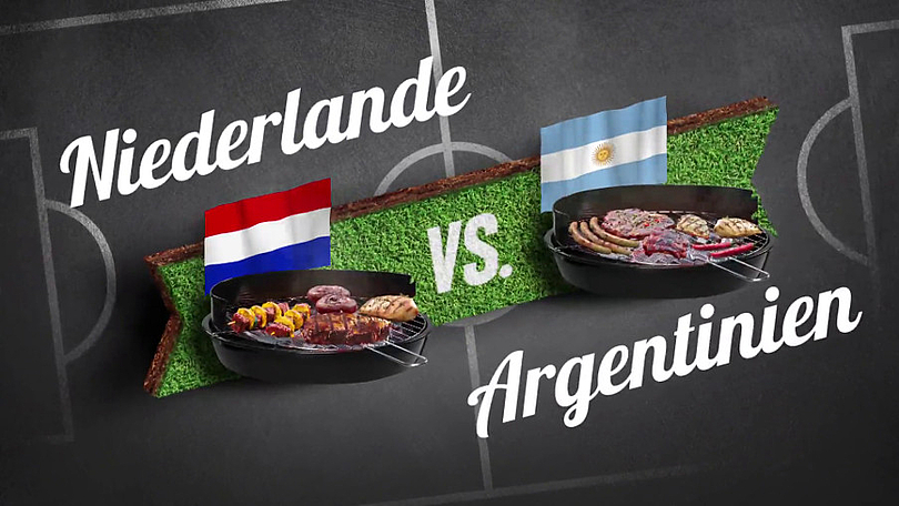 """Reiner Calmund - EDEKA – Bauchentscheidungsvideos - Halbfinale """"Niederlande vs. Argentinien"""" (V.2)"""