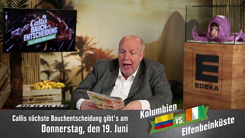 """Reiner Calmund - EDEKA – """"3. Pausenclip"""""""