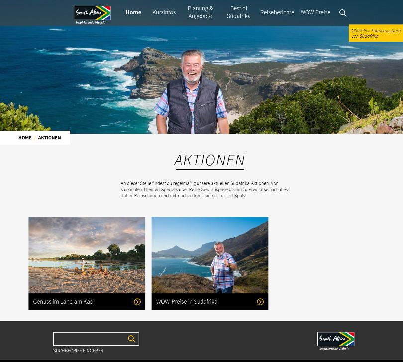 Harry Wijnvoord – Südafrika-Aktionen