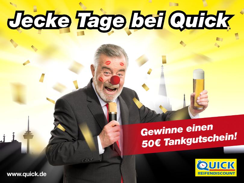 """Harry Wijnvoord – Quick Reifendiscount – """"Jecke Tage bei Quick"""""""