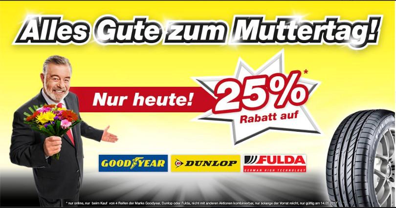 """Harry Wijnvoord – Quick Reifendiscount – """"Alles Gute zum Muttertag!"""""""