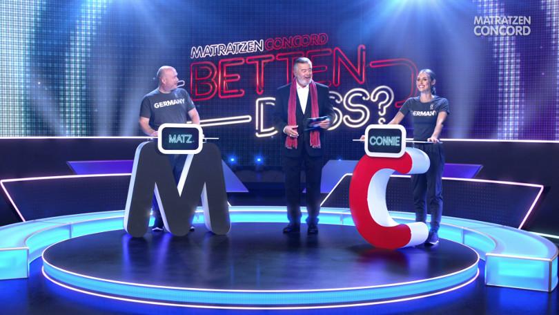 "Harry Wijnvoord – Matratzen Concord – ""Betten dass?"" - TV-Spot Mline Matratzen"