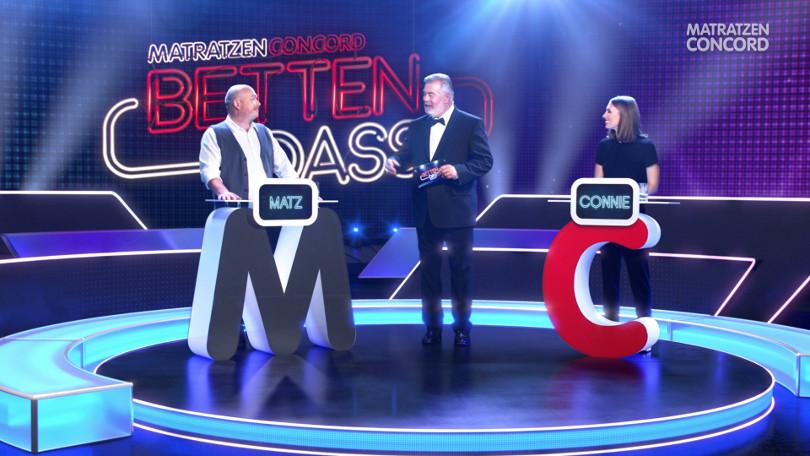 """Harry Wijnvoord – Matratzen Concord – """"Betten dass?"""" - TV-Spot Schlaraffia Gloria"""