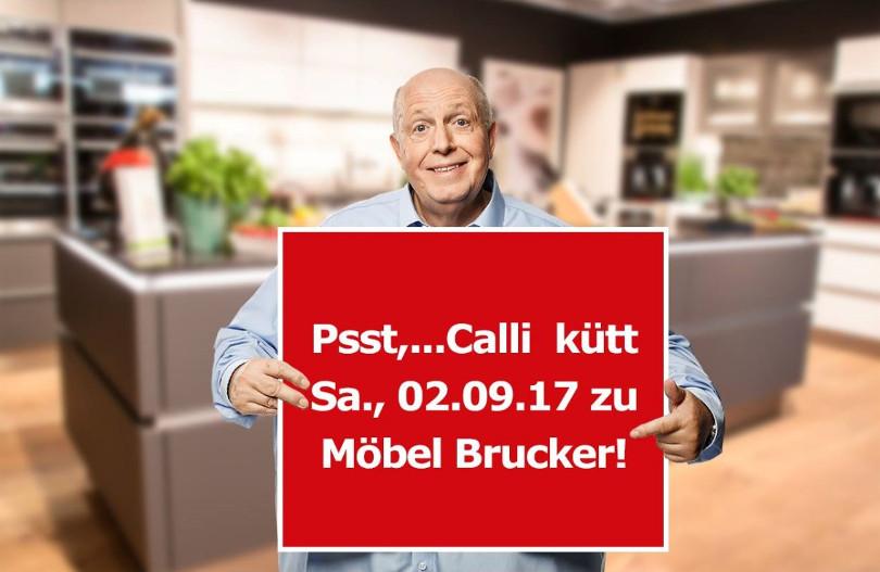 """Reiner Calmund – Möbel Brucker – """"Psst...Calli kütt"""""""