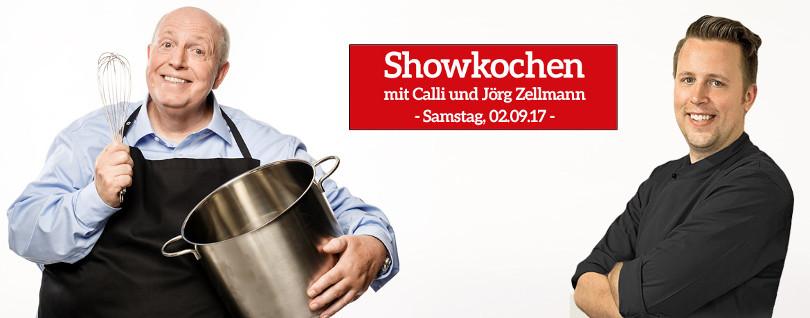 """Reiner Calmund – Möbel Brucker – """"Showkochen"""""""